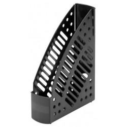 Porte-revues en plastique transparent Faibo 150T / Noir