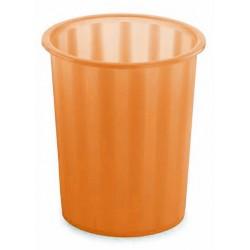 Corbeille à papier Faibo 14L / Orange