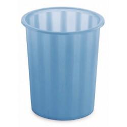 Corbeille à papier Faibo 14L / Bleu