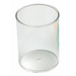 Porte-stylos Faibo en plastique / Cristal