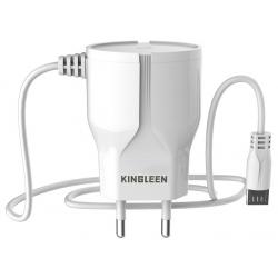 Chargeur Secteur KINGLEEN C822E 1.5A / Blanc