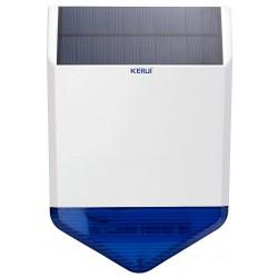 Sirène solaire extérieure sans fil KERUI KR-J1