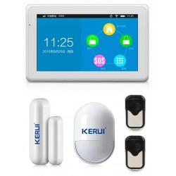 Système d'alarme sans fil + GSM KERUI KR-K7