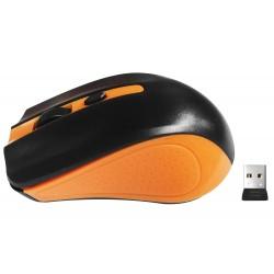 Souris Sans Fil X903 / Noir & Orange