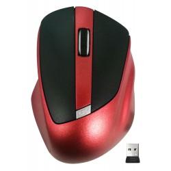 Souris Sans Fil X906 / Noir & Rouge