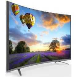 "Téléviseur MAXWELL LED 43"" Curved Full HD / Smart TV / Gris"
