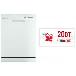 Lave-vaisselle Hoover 60 cm / 13 Couverts / Blanc + Bon d'achat 20 Dt