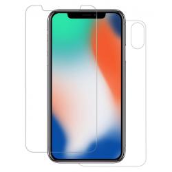 Pack 2 Films de protection Nano Glass 9H pour iPhone X