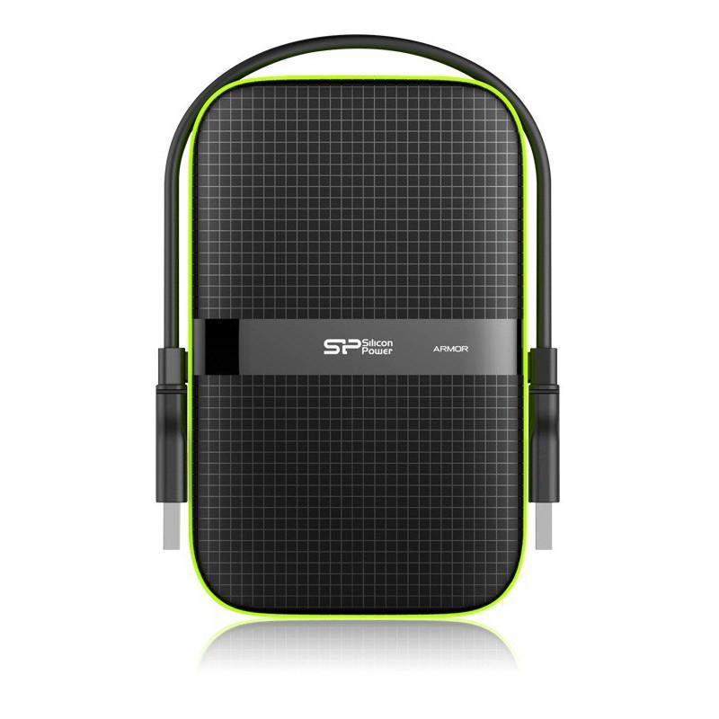 Disque Dur Externe Silicon Power Armor A60 / 1 To / AntiChoc / USB 3.0