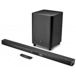 Barre de son JBL Bar 3.1 canaux Ultra HD 4K avec caisson de basses sans fil