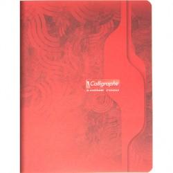 Cahier piqué Calligraphe 7000 17x22 192p séyès 70g