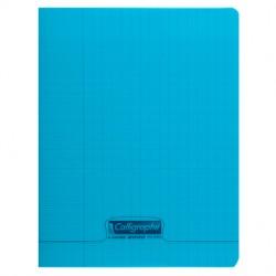 Cahier piqué Calligraphe 8000 POLYPRO 17x22cm 96p séyès 90g / Bleu