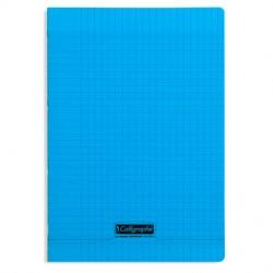 Cahier piqué Calligraphe 8000 POLYPRO 21x29,7cm 96p séyès 90g / Bleu