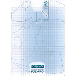 Cahier piqué Calligraphe 8000 POLYPRO 21x29,7cm 96p séyès 90g / Transparent
