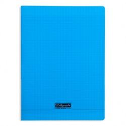 Cahier piqué Calligraphe 8000 POLYPRO 24x32cm 96p séyès 90g / Bleu
