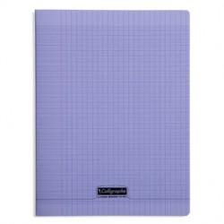 Cahier piqué Calligraphe 8000 POLYPRO 24x32cm 96p séyès 90g / Violet