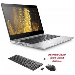 Pc Portable HP EliteBook 830 G5 / i7 8è Gén / 12 Go + Ensemble Clavier Souris Offert + SIM Orange Offerte 30 Go