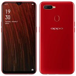 Téléphone Portable Oppo A5s / 4G / Double SIM / Rouge + SIM Orange Offerte (60 Go) + Abonnement IPTV