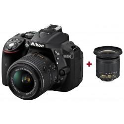 Réflex Numérique Nikon D5300 + Objectif AF-P DX NIKKOR 10-20mm f/4.5-5.6G VR