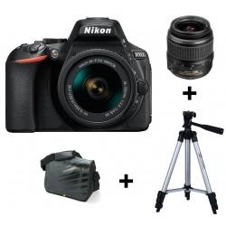 Réflex Numérique Nikon D5600 + Objectif Nikkor 18-55MM + Trépied + Sacoche
