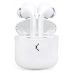 Écouteurs Sans Fil Ksix True Buds avec Micro / Blanc