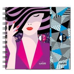 Cahier TP Wiro YAMAMA Couverture Plastique 17x22 Séyès 96p