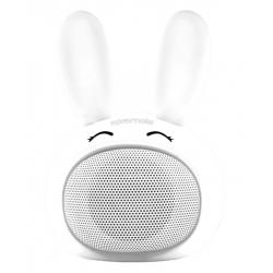 Mini Haut-parleur Bluetooth Promate Bunny / Blanc