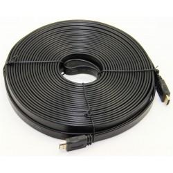 Câble HDMI Plat 20M