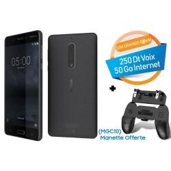 Téléphone Portable Nokia 5 / Noir + SIM Orange Offerte (50 Go)