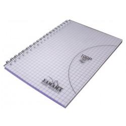 Carnet YAMAMA Wiro Couverture Plastique 11x17 / 5x5 70G 100p