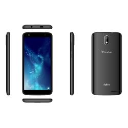 Téléphone Portable Condor Griffe T6 / 3G / Double SIM / Noir + SIM Offerte (40 Go)