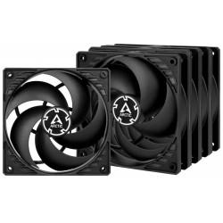 5x Ventilateurs de boîtier pour Gamer Arctic P12 PWM PST Value Pack / Noir