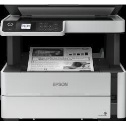 Imprimante à réservoir intégré multifonction 3 en 1 monochrome ECOTANK ET-M2140 / Recto/verso / Garantie 3 ans