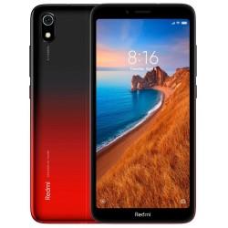 Téléphone Portable Xiaomi Redmi 7A / 4G / Noir & Rouge + SIM Orange Offerte (50 Go)