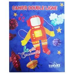 Cahier Piqué YAMAMA 17x22 Double Ligne 80G 36p