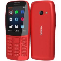 Téléphone Portable Nokia 210 / Double SIM / Rouge