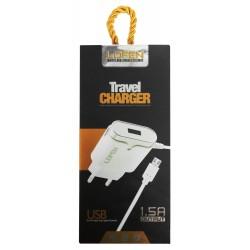 Chargeur Secteur LDFEN HXUD5 Micro USB 1.5A / Blanc