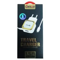 Chargeur secteur LT Power HXUD-1 USB vers USB Type C 1.5A