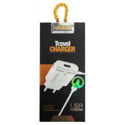 Chargeur Secteur LDFEN HXUD5 USB vers Lightning 1.5A / Blanc