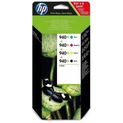 Pack Cartouche d'origine HP 940XL / 4 Couleurs