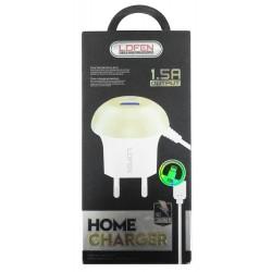 Chargeur Secteur LDFEN HXUD7 USB vers Lightning 1.5A / Blanc