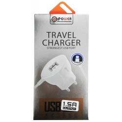 Chargeur secteur LT Power HXUD-4 USB vers USB Type C 1.5A