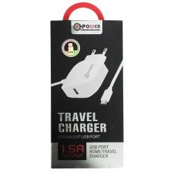 Chargeur secteur LT Power HXUD-3 USB vers USB Type C 1.5A