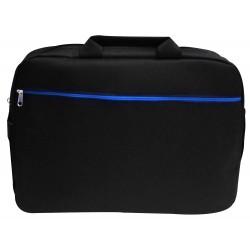 """Sacoche pour Pc Portable 15.6"""" / Noir & Bleu"""