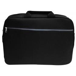 """Sacoche pour Pc Portable 15.6"""" / Noir & Gris"""