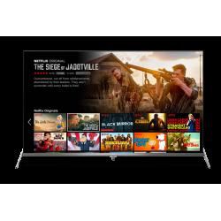 """Téléviseur TCL Série P8S / 55"""" UHD 4k Smart TV / Wifi - Android / Noir"""