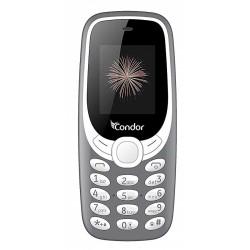 Téléphone Portable Condor F6 / Double SIM / Gris + SIM Offerte
