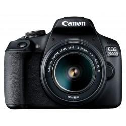 Appareil Photo Reflex Canon EOS 2000D + 18-55 mm IS + EF-S 10-18mm IS STM + Carte Mémoire + Sacoche