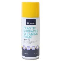 Mousse de nettoyage Platinet pour surfaces plastiques 400 ml