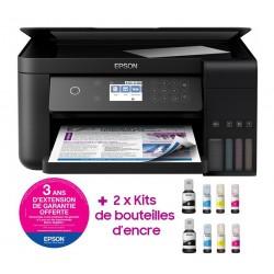 Imprimante à réservoir intégré 3en1 couleur Epson ECOTANK ITS L6160 / Wifi / Garantie 3 ans